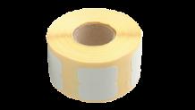 Foogy LW Serisi Muadil Etiket 89 mm x 41 mm Beyaz