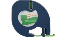 Foogy Plastik Şerit Etiket Yeşil 12 mm x 4